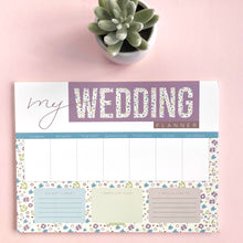 Wedding Weekly Planner (4 units)
