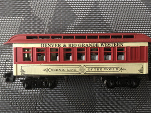 HO Scale Train Coach Passenger Seating Car Interior - 34'