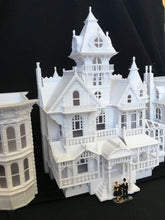 Miniature Victorian #5 - Bed & Breakfast - by Gold Rush Bay HO Scale (1:87)