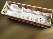 Train HO Scale Dining Car Interior - 34' MDC