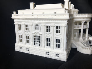 HO Scale Miniature WHITE HOUSE Washington DC Capitol Collection #2