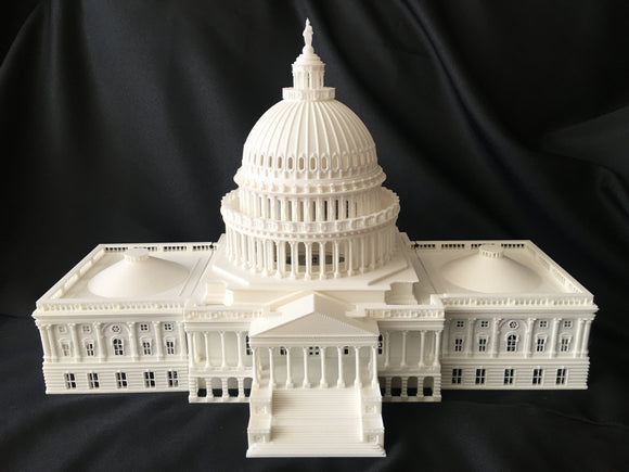 N-Scale Capitol Hill Building and Dome Washington DC Capitol Collection #1