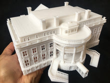 N-Scale WHITE HOUSE Miniature Model Washington DC Capitol Collection #2 1:160
