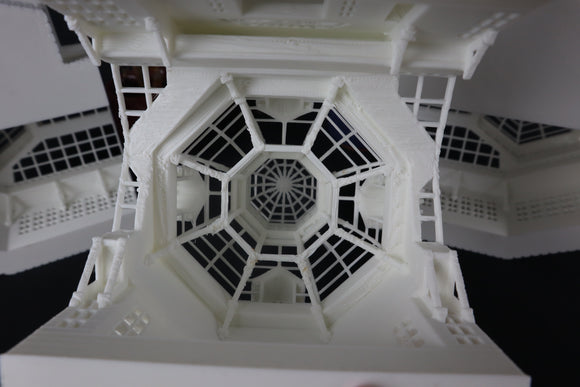 WOOD Miniature HO Scale Old West #5 Frontier Blacksmith Shop Built Includes Interiors