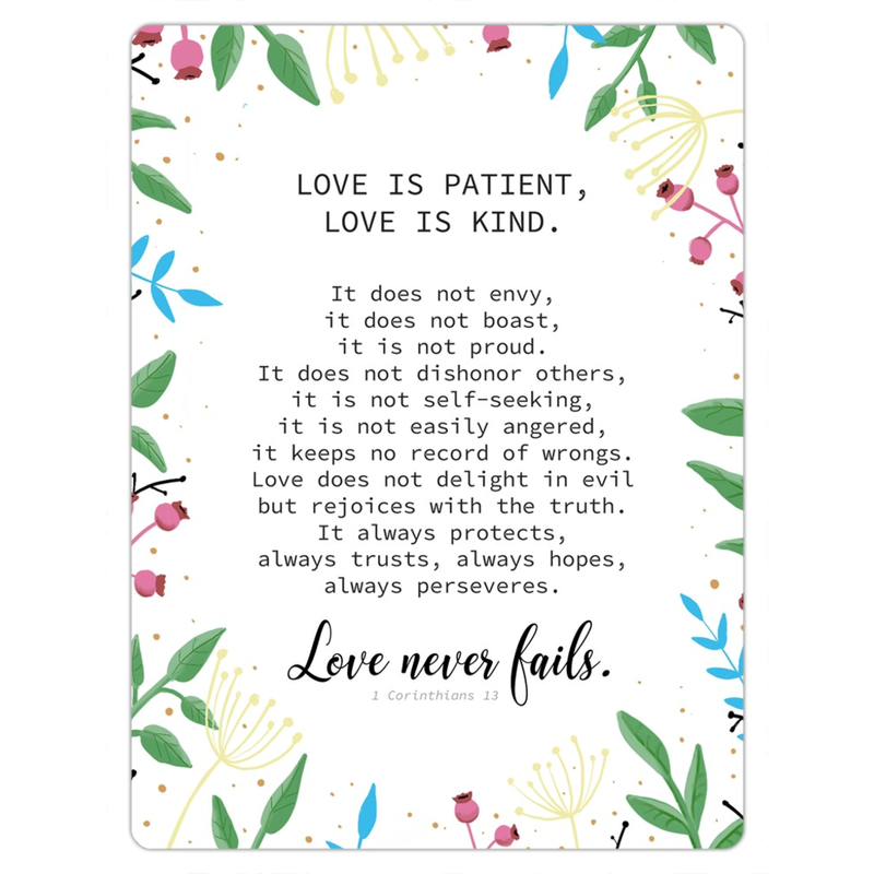 Love is Patient - Magnet