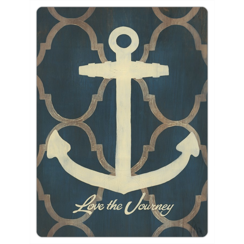 Love the Journey Anchor Magnet