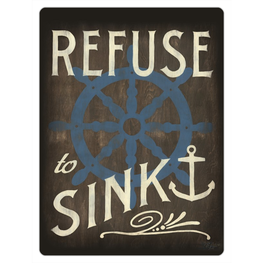 Refuse to Sink Magnet
