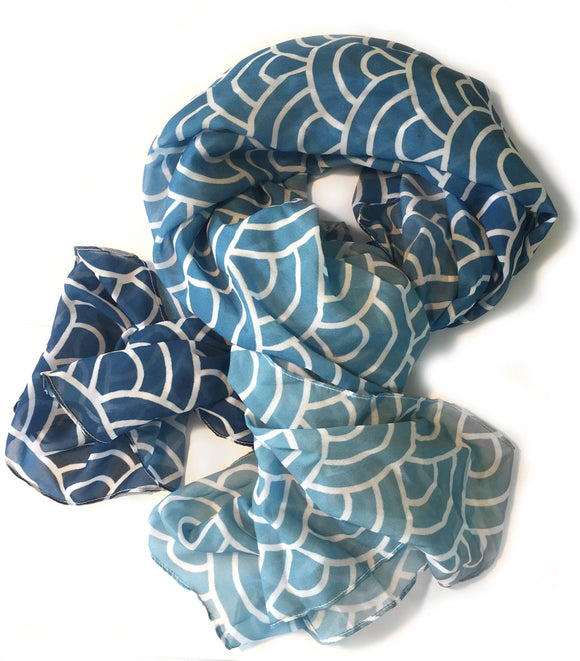 Open Ocean Scarf from Modern Rosie