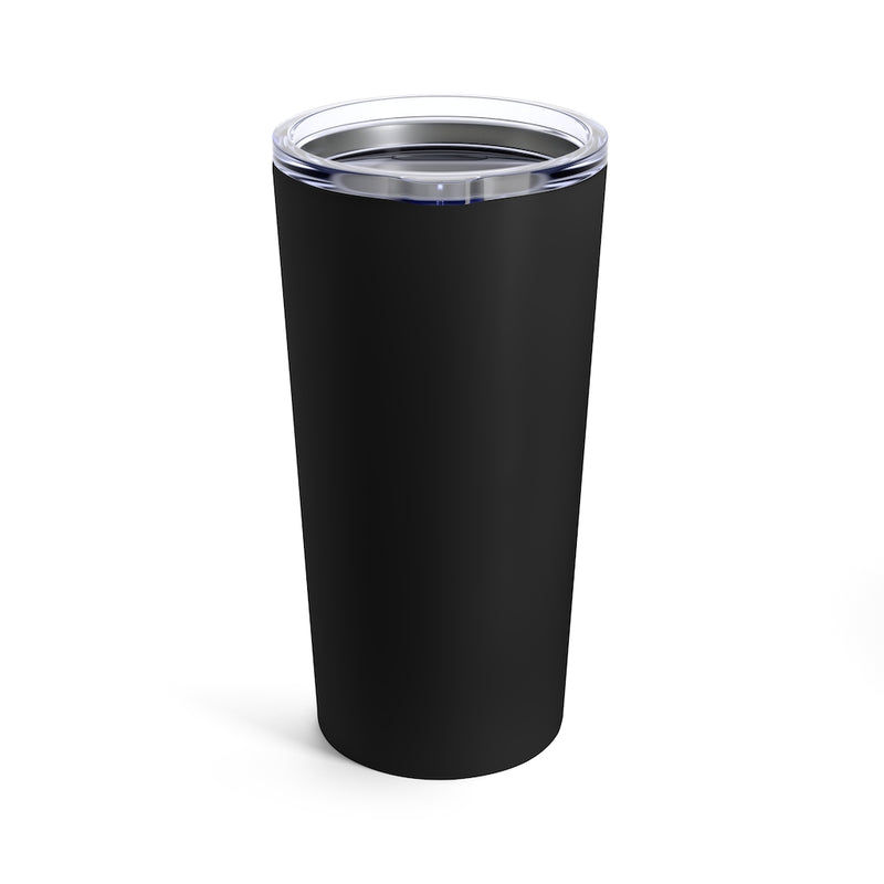 Vino Vibes -  Tall Beverage Tumbler in black