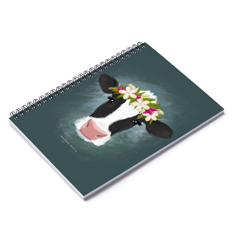 Aloha Cow Spiral Notebook