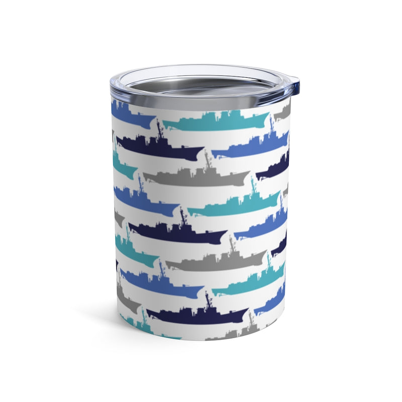 Destroyer Blues -  Wine Tumbler