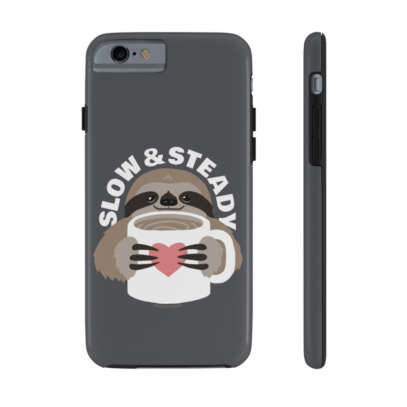 Slow and Steady Sloth Phone Case