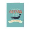 Oceans of Love 5x7 Folded Birthday Card