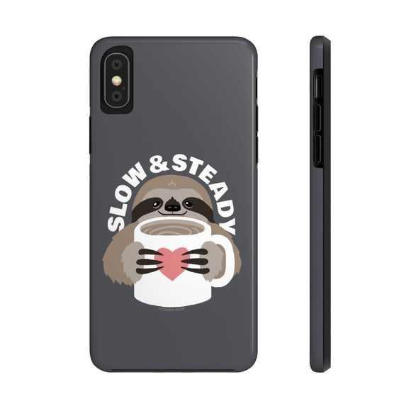 Slow and Steady Sloth Phone Case from Modern Rosie