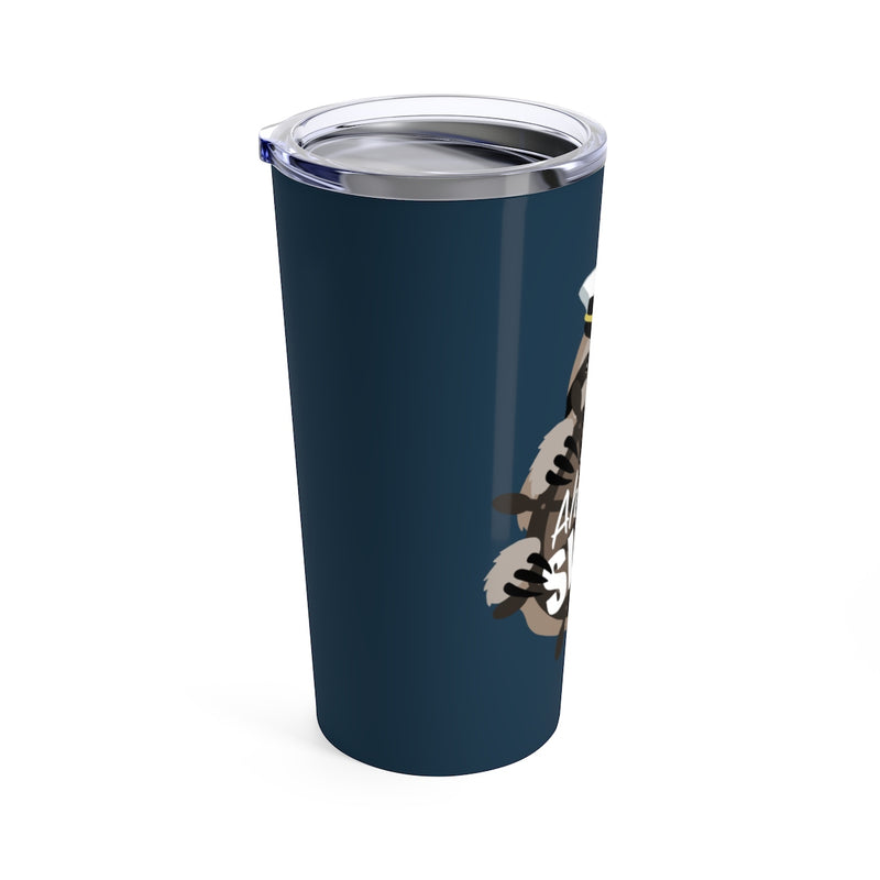 All Ahead Slow Sloth Beverage Tumbler