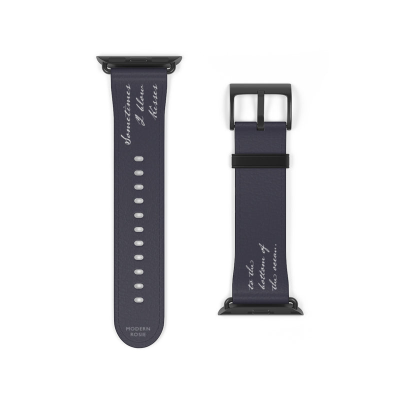 Kisses to Submarines Watch Band
