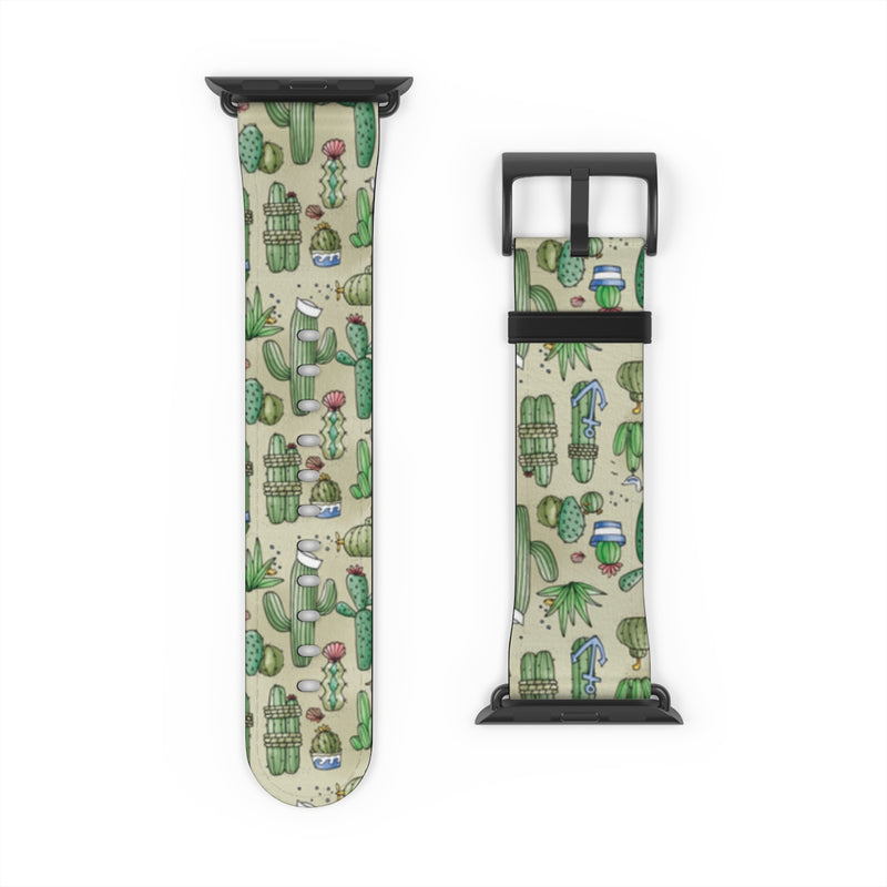 Salty Cacti Watch Band