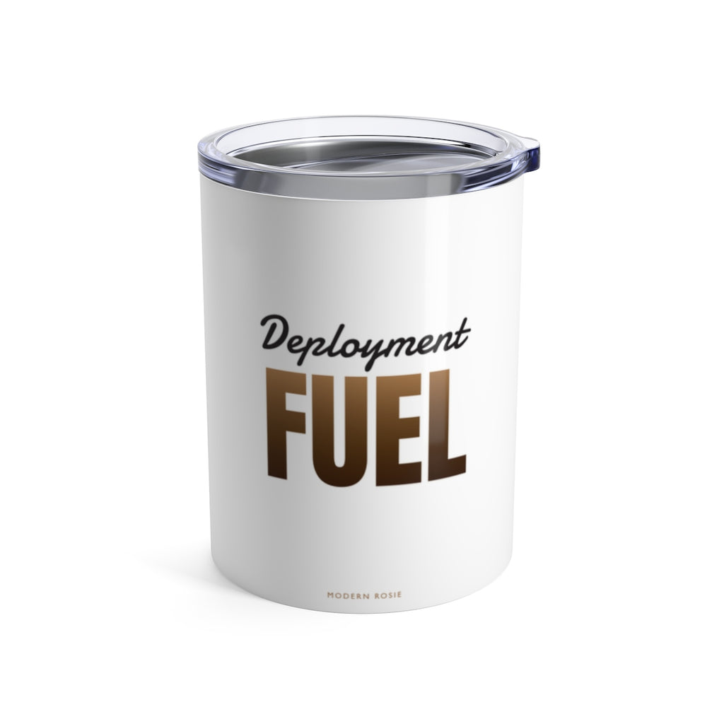 Deployment Fuel Wine Tumbler