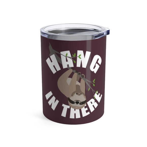 Hang in There Sloth - Wine Tumbler