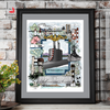 Pearl Harbor Submarine Service - CUSTOM Print