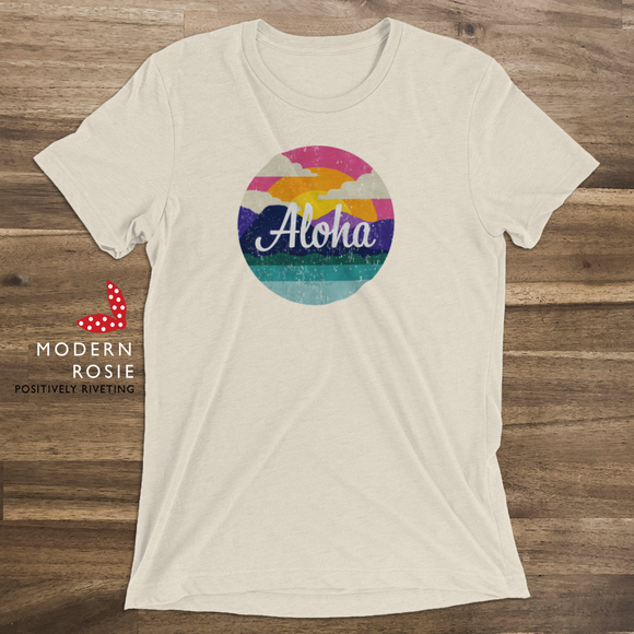 The Aloha Tee from Modern Rosie