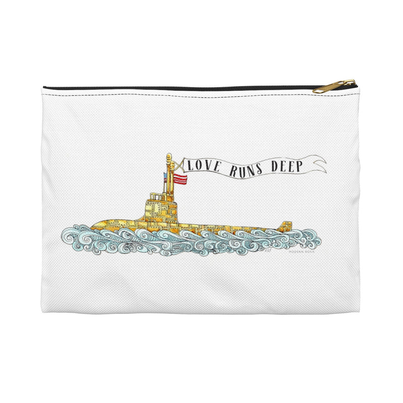 Love Runs Deep Pencil Pouch