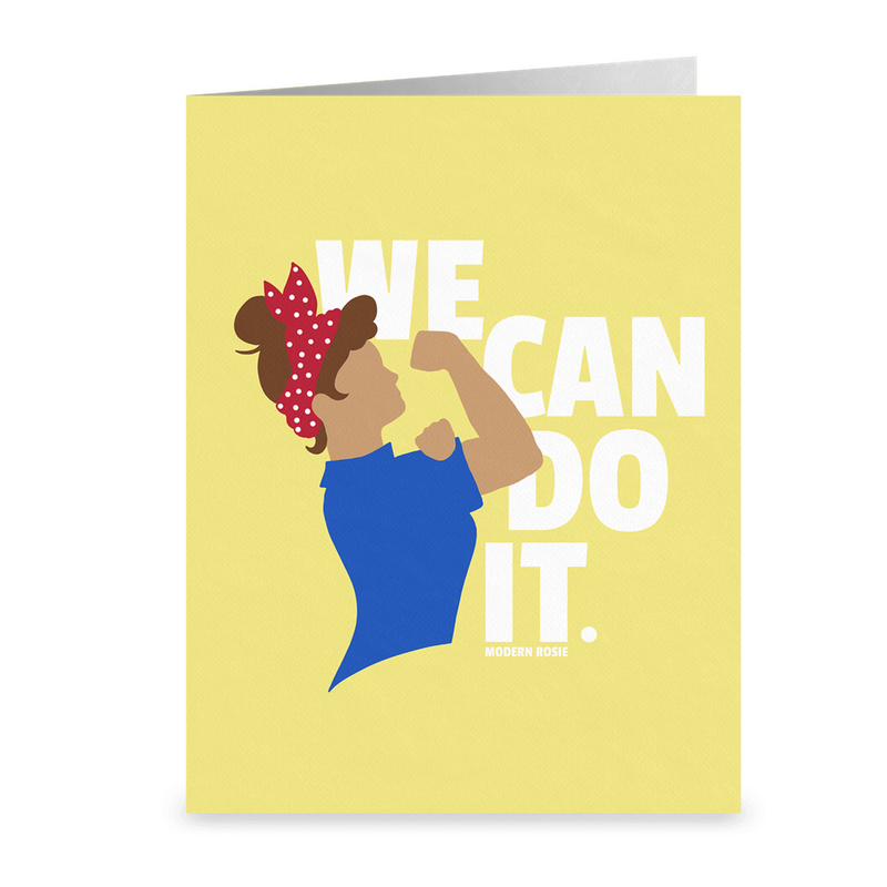 We Can Do It - Rosie the Riveter - Folded Cards