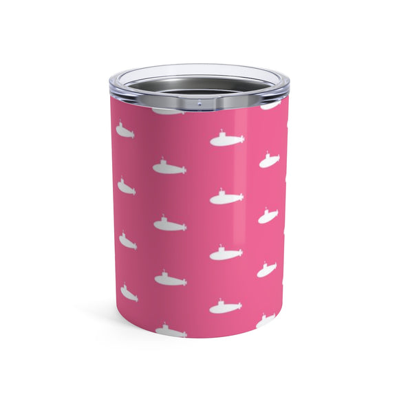 Tiny Subs (Pink) Wine Tumbler