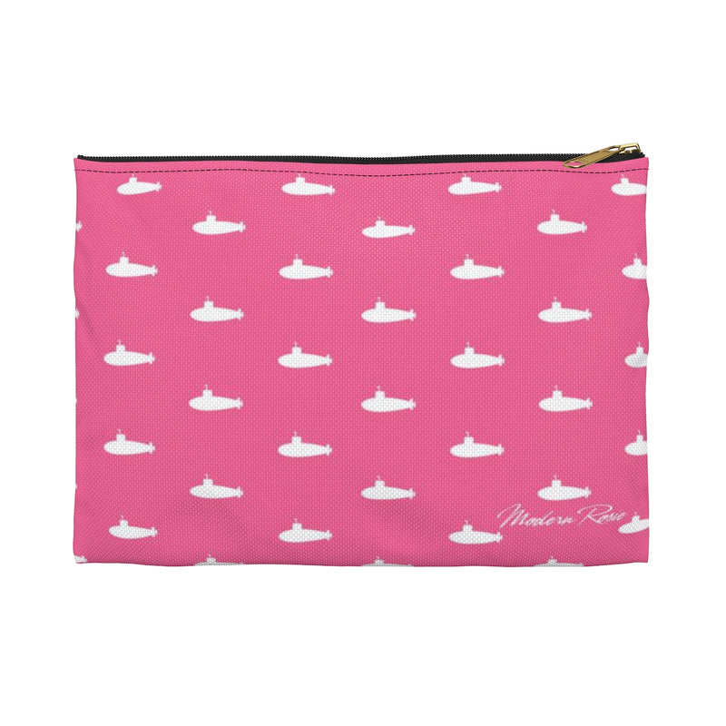 Tiny Subs (Pink)  Pencil Pouch
