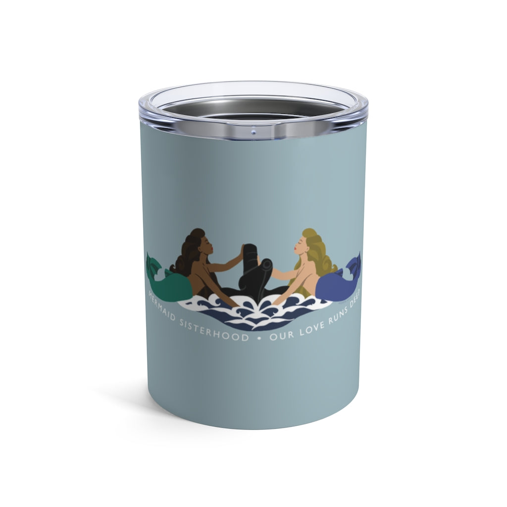 Submarine Mermaid Sisterhood Insignia - Wine Tumbler