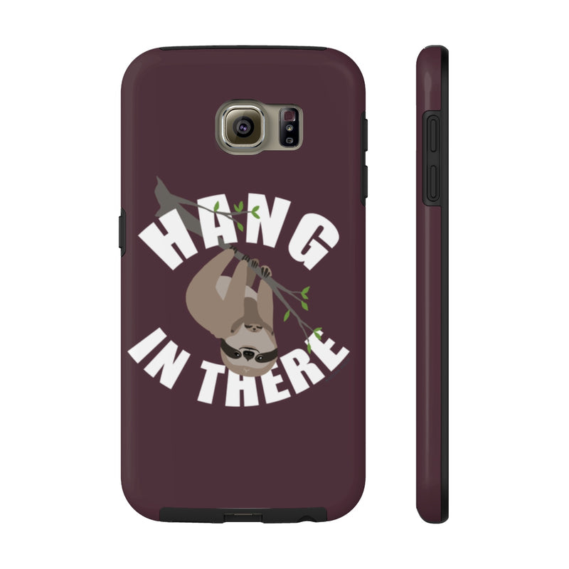 Hang in There Sloth Phone Case