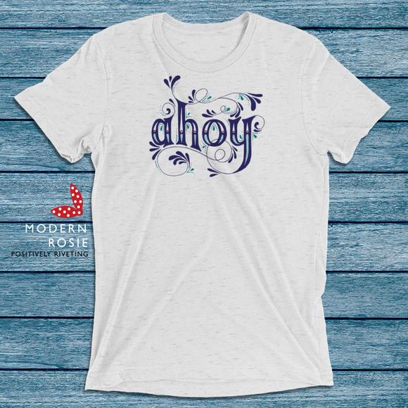 The Ahoy Tee from Modern Rosie