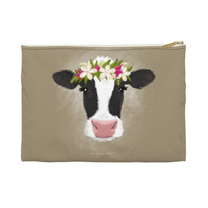 Aloha Cow Pencil Pouch from Modern Rosie