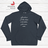 Blowing Kisses to Submarines - Cozy fleece hoodie