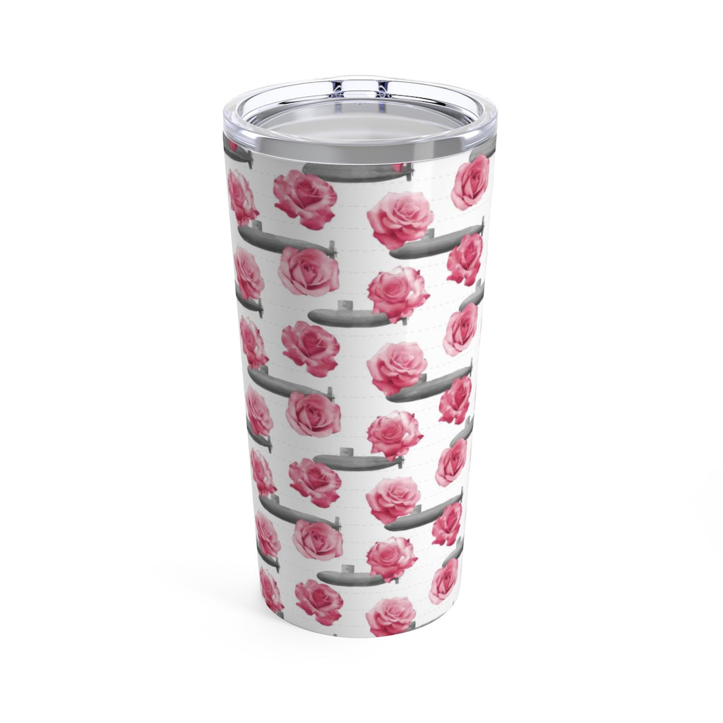 Roses and Submarines Beverage Tumbler