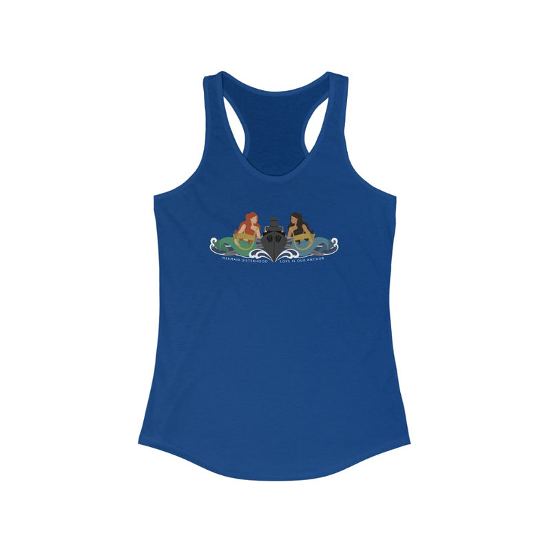 Surface Mermaid Sisterhood Insigina - Ladies' Racerback Tank