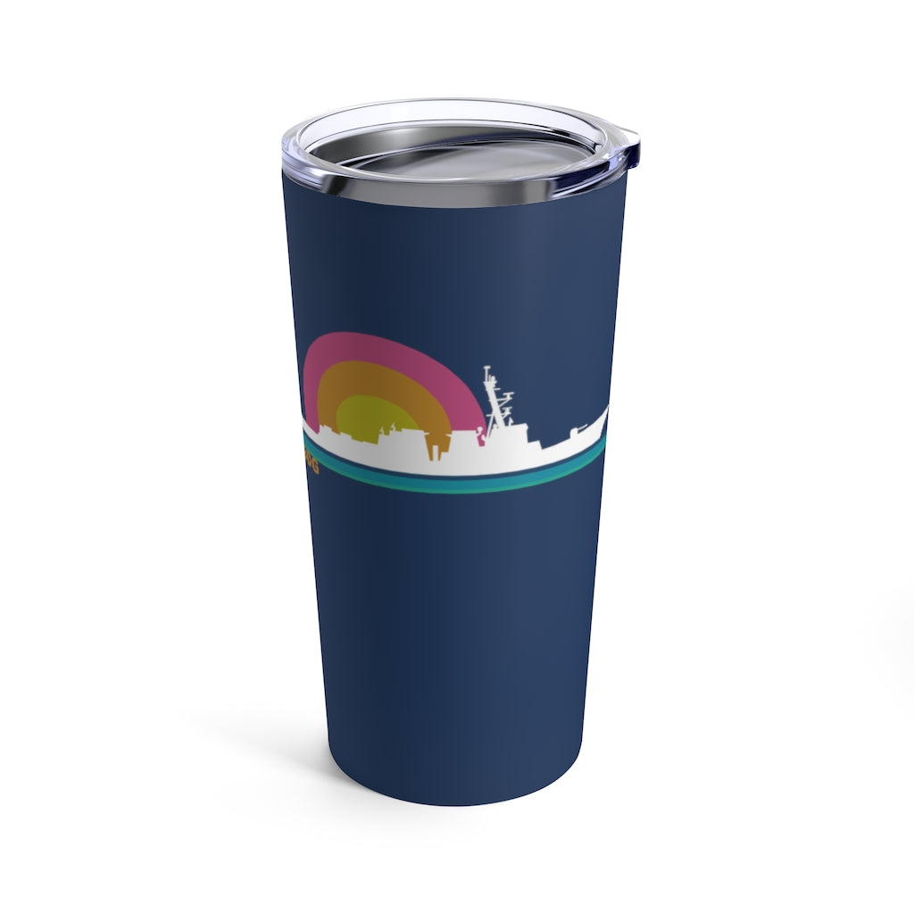 Destroyer Sunset - Tall Tumbler