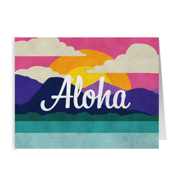 Aloha Cards from Modern Rosie