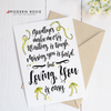 Loving You Is Easy - Deployment 5x7 Folded Card