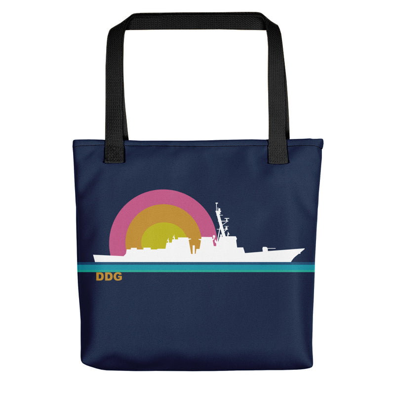 Destroyer Sunset - Tote bag
