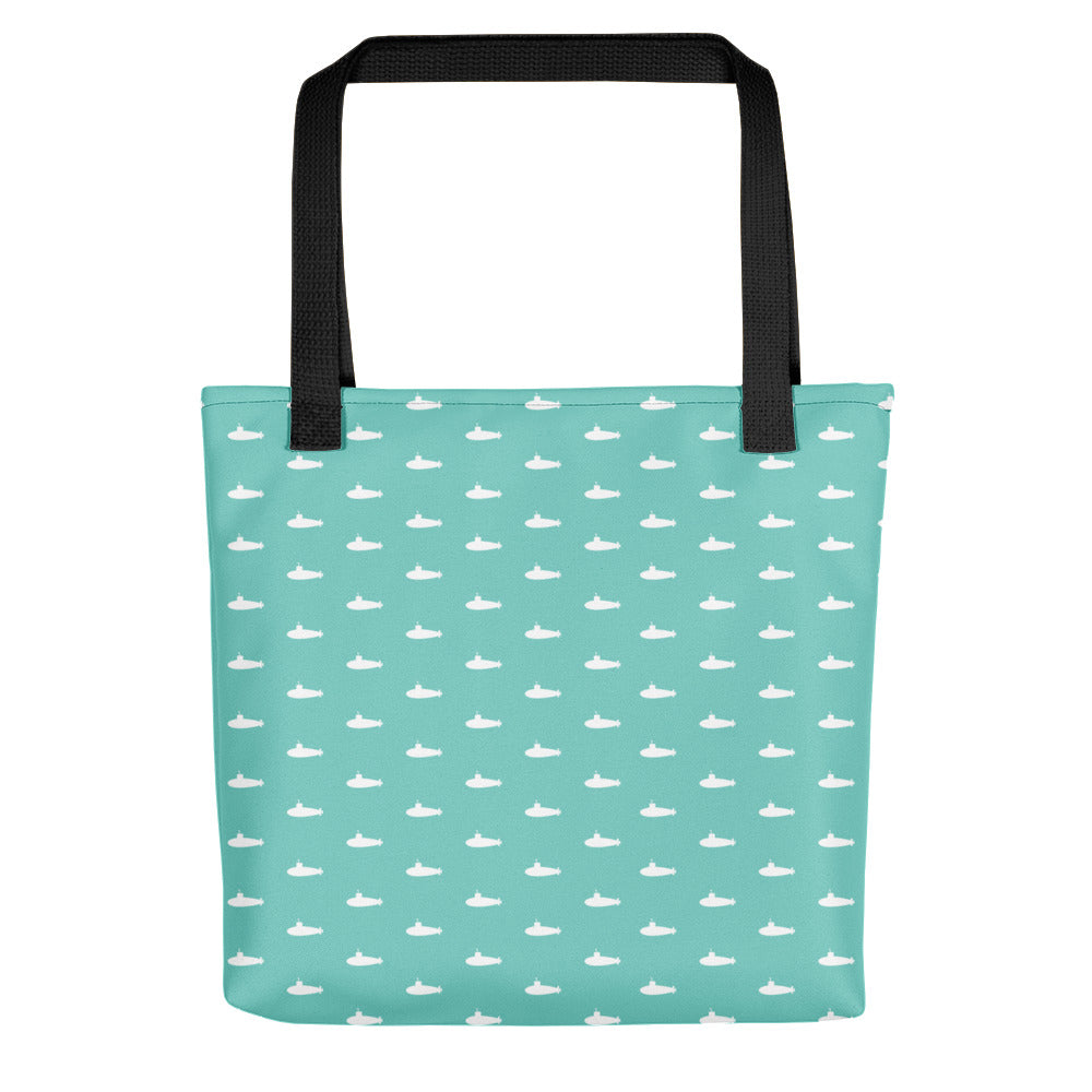 Tiny Subs (Teal) Tote bag