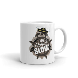 All Ahead Slow Sloth Mug