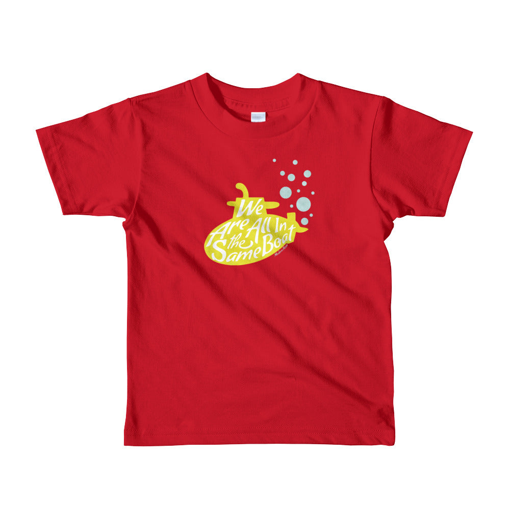 We Are All in the Same Boat - Little Kids Tee