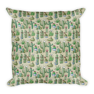 Salty Cacti Throw Pillow from Modern Rosie