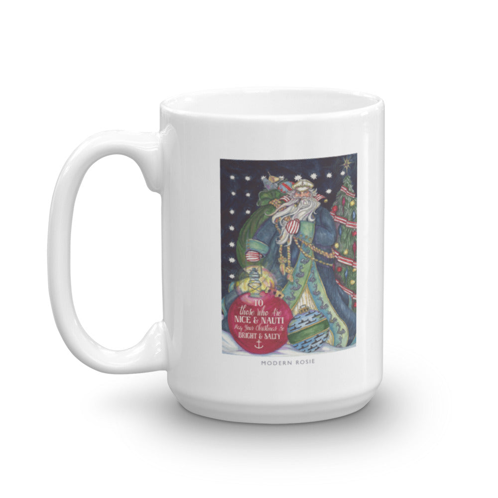 Salty Santa- Submarine Coffee Mug