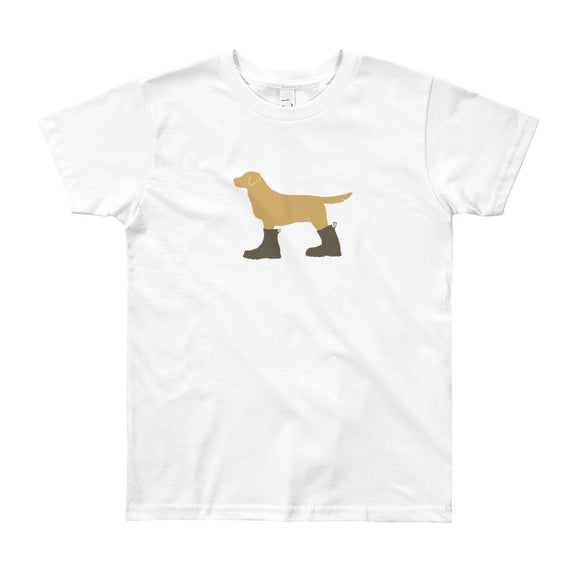 "The ""Dog in Combat Boots"" Tee - big kids from Modern Rosie"
