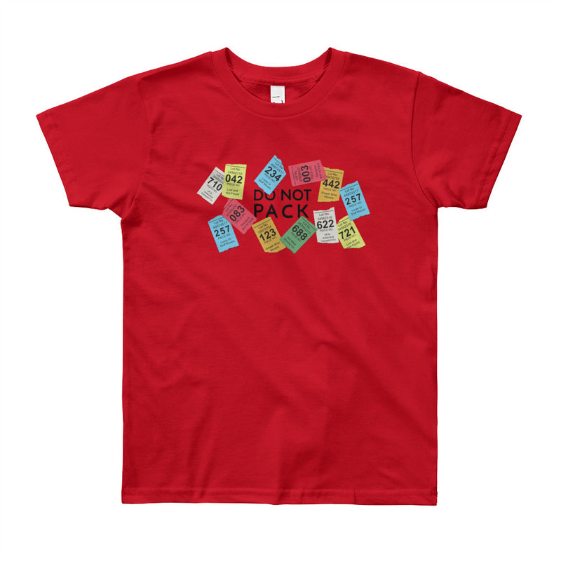 "The ""Don't Pack the Kid"" Tee - Big Kids"