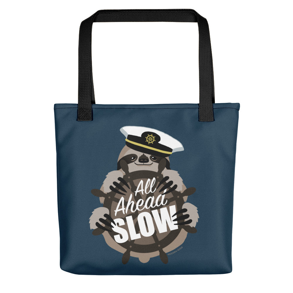 All Ahead Slow Sloth Tote bag