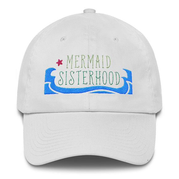 The Mermaid Sisterhood Hat - Classic Embroidered Ball Cap
