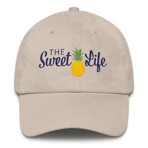The Sweet Life Hat - Embroidered Classic Ball Cap from Modern Rosie
